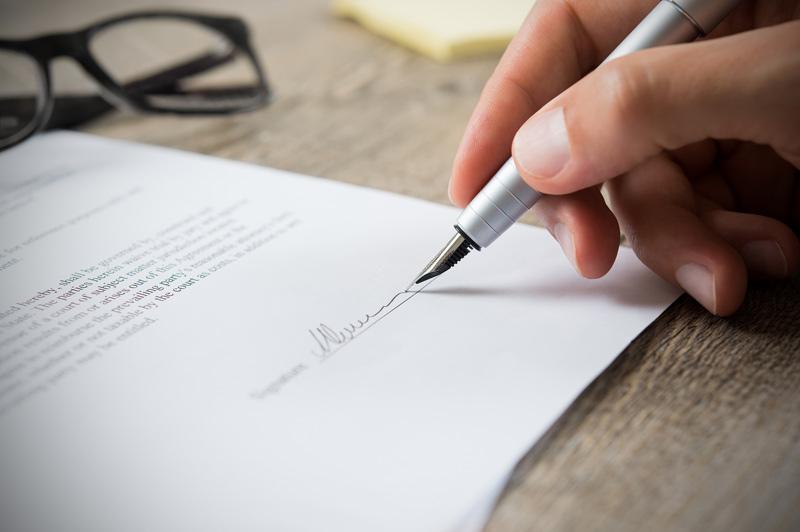 lettre dépot garantie